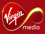 Logo: Virgin media.
