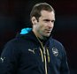 LONDON, ENGLAND - SEPTEMBER 29:  Petr Cech of Arsenal walks onto the pitch after the UEFA Champions League match between Arsenal and Olympiacos at the Emirates Stadium on September 29, 2015 in London, United Kingdom.  (Photo by Catherine Ivill - AMA/Getty Images)