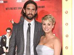 HOLLYWOOD, CA - JANUARY 06:  Ryan Sweeting and Kaley Cuoco attend the premiere of 'The Wedding Ringer' at TCL Chinese Theatre on January 6, 2015 in Hollywood, California.  (Photo by Jason Merritt/Getty Images)