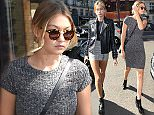 Kendall Jenner, Kylie Jenner and Hailey Baldwin leave their hotel in Paris. 9/30/2015  Pictured: Gigi Hadid Ref: SPL1140104  300915   Picture by: KCS Presse / Splash News  Splash News and Pictures Los Angeles: 310-821-2666 New York: 212-619-2666 London: 870-934-2666 photodesk@splashnews.com