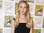 Mandatory Credit: Photo by Eric Charbonneau/REX Shutterstock (4900187bv).. Jennifer Lawrence.. 'The Hunger Games: Mockingjay, Part 2' presentation at Comic-Con, San Diego, America - 09 Jul 2015.. WEARING LOUIS VUITTON..