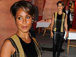 Jada Pinkett Smith at the Italiano La Stresa resaurant in Paris\nFeaturing: Jada Pinkett Smith\nWhere: PARIS, Italy\nWhen: 30 Sep 2015\nCredit: WENN.com\n**Not available for publication in Italy**