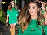 Courtney Sixx seen wearing a short emerald green dress and knee high boots to Villa Blanca in Beverly Hills, CA\n\nPictured: Courtney Sixx\nRef: SPL1140060  290915  \nPicture by: VIPix / Splash News\n\nSplash News and Pictures\nLos Angeles: 310-821-2666\nNew York: 212-619-2666\nLondon: 870-934-2666\nphotodesk@splashnews.com\n