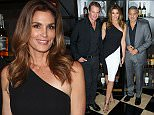 LONDON, ENGLAND - OCTOBER 01:  Rande Gerber, Cindy Crawford and George Clooney attend the Casamingos Tequila & Cindy Crawford book launch party at The Beaumont Hotel on October 1, 2015 in London, England.  (Photo by Eamonn M. McCormack/Getty Images)