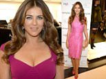 SHORT HILLS, NJ - SEPTEMBER 30:  (Exclusive Coverage) Elizabeth Hurley attends Bloomingdales's Kicks off Breast Cancer Awareness Month with Luncheon Hosted by The Estee Lauder Companies' Breast Cancer Awareness Campaign Ambassador Elizabeth Hurley at Bloomingdale's on September 30, 2015 in Short Hills, New Jersey.  (Photo by Kevin Mazur/Getty Images for The Estee Lauder Companies)
