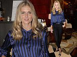 LONDON, ENGLAND - OCTOBER 01:  Donna Air arrives at the London launch of Casamigos Tequila and Cindy Crawford's book 'Becoming' hosted by Rande Gerber, George Clooney and Michael Meldman on October 1, 2015 in London, England.  (Photo by David M. Benett/Dave Benett / Getty Images for Casamigos Tequila)