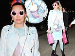 Miley Cyrus was seen this evening in New York after Saturday Night Live rehearsals and was greeted with gifts by fans \n\nPictured: Miley Cyrus\nRef: SPL1140538  300915  \nPicture by: We Dem Boyz / Splash News\n\nSplash News and Pictures\nLos Angeles: 310-821-2666\nNew York: 212-619-2666\nLondon: 870-934-2666\nphotodesk@splashnews.com\n