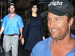 EXCLUSIVE: Camila Alves and Matthew McConaughey are seen out in Manhattan \n\nPictured: Camila Alves, Matthew McConaughey\nRef: SPL1140718  011015   EXCLUSIVE\nPicture by: JosiahW / Splash News\n\nSplash News and Pictures\nLos Angeles: 310-821-2666\nNew York: 212-619-2666\nLondon: 870-934-2666\nphotodesk@splashnews.com\n