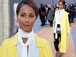 PARIS, FRANCE - OCTOBER 01:  Actress Jada Pinkett Smith attends the Chloe show as part of the Paris Fashion Week Womenswear Spring/Summer 2016 on October 1, 2015 in Paris, France.  (Photo by Bertrand Rindoff Petroff/Getty Images)