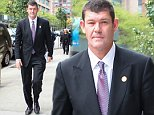 New York, NY - Australian businessman James Packer walks back to his NYC hotel after attending a few business meetings. Packer is currently dating singer Mariah Carey...AKM-GSI         September 30, 2015..To License These Photos, Please Contact :..Steve Ginsburg..(310) 505-8447..(323) 423-9397..steve@akmgsi.com..sales@akmgsi.com..or..Maria Buda..(917) 242-1505..mbuda@akmgsi.com..ginsburgspalyinc@gmail.com