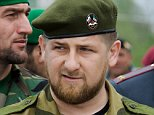 "Chechen President Ramzan Kadyrov attends a Victory Day parade in Grozny, 09 May 2007, during the annual celebration of the end of World War II. Russian President Vladimir Putin took a veiled swipe at Estonia 09 May 2007 during celebrations of the Soviet victory over Nazi Germany in World War II. ""Those who are trying today to diminish this invaluable experience, to desecrate memorials to war heroes, are insulting their own people, sowing discord and new distrust between states and people,"" Putin said at a massive military parade on Red Square. AFP PHOTO / RUSLAN ALKHANOV (Photo credit should read RUSLAN ALKHANOV/AFP/Getty Images) VERTICAL MOW062"