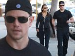 eURN: AD*183177674  Headline: Matt Damon and Luciana Barroso go to Rise Movement Studiot in West Hollywood Caption: Pictured: Matt Damon, Luciana Barroso Mandatory Credit © DRILA/Broadimage Matt Damon and Luciana Barroso go to Rise Movement Studiot in West Hollywood  10/1/15, West Hollywood, California, United States of America  Broadimage Newswire Los Angeles 1+  (310) 301-1027 New York      1+  (646) 827-9134 sales@broadimage.com http://www.broadimage.com  Photographer: DRILA/Broadimage  Loaded on 01/10/2015 at 21:43 Copyright:  Provider: DRILA/Broadimage  Properties: RGB JPEG Image (18051K 1031K 17.5:1) 2100w x 2934h at 300 x 300 dpi  Routing: DM News : GroupFeeds (Comms), GeneralFeed (Miscellaneous) DM Showbiz : SHOWBIZ (Miscellaneous) DM Online : Online Previews (Miscellaneous), CMS Out (Miscellaneous)  Parking: