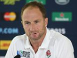 BAGSHOT, ENGLAND - SEPTEMBER 29:  Mike Catt, the England skills coach faces the media during the England media session at Pennyhill Park on September 29, 2015 in Bagshot, England.  (Photo by David Rogers/Getty Images)