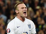England's Wayne Rooney celebrates after scoring the 2-0 goal during the UEFA EURO 2016 Group E qualification match between England and Switzerland, at Wembley Stadium in London, Britain, 08 September 2015. Rooney became England's all-time record goalscorer with 50 goals after converting a penalty against Switzerland.  EPA/ANDY RAIN