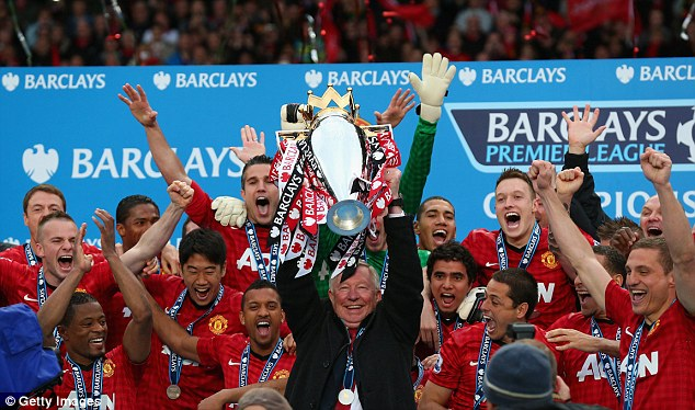 Sir Alex Ferguson was manager of United for 27 years and won 13 Premier League titles