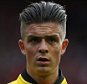 Jack Grealish of Aston Villa during the Barclays Premier League match between Liverpool and Aston Villa played at Anfield, Liverpool