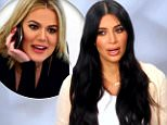 "Kim Kardashian: I'm ""Sick to My Stomach"" Over Khloe ""Flirting"" with Lamar Odom"