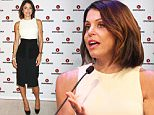 NEW YORK, NY - SEPTEMBER 30:  CEO & Founder of SkinnyGirl Bethenny Frankel poses at the CEO Connectors Presented by AT&T AdWorks panel during Advertising Week 2015 AWXII at the Times Center Stage on September 30, 2015 in New York City.  (Photo by Laura Cavanaugh/Getty Images for AWXII)