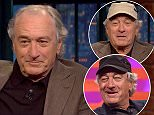 Actors Robert De Niro and Judy Greer visit with Seth. Highly Suspect performs as musical guest.
