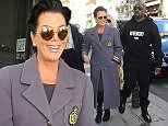 1 October 2015.\nKris Jenner and Corey Gamble seen shopping at Colette in Paris this afternoon. \nCredit: Ben Eade/GoffPhotos.com   Ref: KGC-102\n