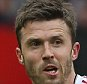 MANCHESTER, ENGLAND - SEPTEMBER 26:  Michael Carrick of Manchester United in action with Ola Toivonen of Sunderland during the Barclays Premier League match between Manchester United and Sunderland on September 26, 2015 in Manchester, United Kingdom.  (Photo by John Peters/Man Utd via Getty Images)