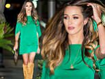 Courtney Sixx seen wearing a short emerald green dress and knee high boots to Villa Blanca in Beverly Hills, CA\n\nPictured: Courtney Sixx\nRef: SPL1140060  290915  \nPicture by: VIPix / Splash News\n\nSplash News and Pictures\nLos Angeles: 310-821-2666\nNew York: 212-619-2666\nLondon: 870-934-2666\nphotodesk@splashnews.com\n