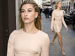 01.OCTOBER.2015 - PARIS - FRANCE AMERICAN MODEL HAILEY BALDWIN IS SEEN OUT WITH A FRIEND DURING PARIS FASHION WEEK 2015. *** AVAILABLE FOR UK SALE ONLY *** BYLINE MUST READ : E-PRESS / XPOSUREPHOTOS.COM ***UK CLIENTS - PICTURES CONTAINING CHILDREN PLEASE PIXELATE FACE PRIOR TO PUBLICATION *** **UK CLIENTS MUST CALL PRIOR TO TV OR ONLINE USAGE PLEASE TELEPHONE 0208 344 2007**