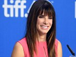 """TORONTO, ON - SEPTEMBER 12:  Actress/executive producer Sandra Bullock speaks onstage during the """"Our Brand Is Crisis"""" press conference at the 2015 Toronto International Film Festival at TIFF Bell Lightbox on September 12, 2015 in Toronto, Canada.  (Photo by Jason Merritt/Getty Images)"""