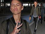 Zendaya Zendaya departs from Los Angeles International Airport (LAX)\nFeaturing: Zendaya\nWhere: Los Angeles , California, United States\nWhen: 01 Oct 2015\nCredit: WENN.com
