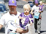 Pictured: Josh Duhamel, Axl Jack Duhamel Mandatory Credit © SPI/Broadimage Josh Duhamel takes son Axl Jack Duhamel to the game in Brentwood   10/1/15, Brentwood, California, United States of America  Broadimage Newswire Los Angeles 1+  (310) 301-1027 New York      1+  (646) 827-9134 sales@broadimage.com http://www.broadimage.com