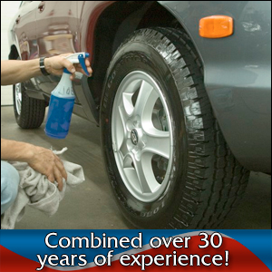 Auto Detailing - Batesville, MS - Car Genie Mobile Car Wash & Detail - car tires - Combined over 30 years of experience!