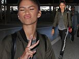 Zendaya Zendaya departs from Los Angeles International Airport (LAX)\nFeaturing: Zendaya\nWhere: Los Angeles , California, United States\nWhen: 01 Oct 2015\nCredit: WENN.com