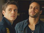No Merchandising. Editorial Use Only. No Book Cover Usage.. Mandatory Credit: Photo by USA Network/Courtesy: Everet/REX Shutterstock (2592810b).. GRACELAND, Aaron Tveit, Daniel Sunjata, 'Pilot', (Season 1, airs June 6, 2013), 2013-... Graceland  - Feb 2013.. ..