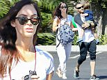 01.OCTOBER.2015 - TOLUCA LAKE - USA\n**EXCLUSIVE ALL ROUND PICTURES**\nMEGAN FOX AND HUSBAND BRIAN AUSTIN GREEN SPENDING TIME TOGETHER ALONG WITH BRIAN'S PARENTS AFTER GRABBING A BITE TO EAT AT A NEARBY EATERY IN TOLUCA LAKE. THE COUPLE ARE SEEMINGLY TRYING THEIR BEST NOT TO LET THEIR REPORTED SEPARATION AFFECT THEIR CHILDREN.\n*STRICTLY AVAILABLE FOR UK AND GERMANY USE ONLY*\nBYLINE MUST READ : XPOSUREPHOTOS.COM\n***UK CLIENTS - PICTURES CONTAINING CHILDREN PLEASE PIXELATE FACE PRIOR TO PUBLICATION ***\n*UK CLIENTS MUST CALL PRIOR TO TV OR ONLINE USAGE PLEASE TELEPHONE 0208 344 2007*