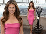 NEW YORK, NY - OCTOBER 01:  William P. Lauder and Elizabeth Hurley Light The Empire State Building Pink to Inspire Action in the Fight Against Breast Cancer and Launch The Estee Lauder Companies' 23rd Breast Cancer Awareness Campaign on October 1, 2015 in New York City.  (Photo by Kevin Mazur/Getty Images for The Estee Lauder Companies)