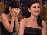 NEW YORK, NY: Wednesday, September 30, 2015 ¿ \nHost Jimmy Fallon was joined by actress Julianna Margulies, star of the CBS TV series ¿The Good Wife.¿ Black Simon and Garfunkel were joined by Art Garfunkel. The cast of PBS TV ¿Ask This Old House.¿ Also Bravo TV host Andy Cohen and jazz-rock guitarist John Scofield sat in with The Roots.\n