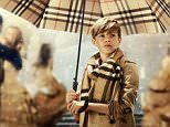 Romeo Beckham. FREE PIC  The story captures a boy delivering the gift of love to a young couple, taking him on a journey of wonder, romance and festive enchantment through the snowy streets of London, whilst celebrating our iconic product including the Heritage trench coat, the cashmere scarf, men?s tailoring, women?s eveningwear as well as previewing a new Burberry Beauty make-up look.  The music is specially written and recorded by British musician Ed Harcourt exclusively for this campaign and the track ?The Way That I Live? will be available for pre-order exclusively through iTunes from 4th November, ahead of its official release in December as a single.   I have attached the full press release and high res images under embargo.  Please also be aware that tonight at our Regent Street store in London, a screening will take place of the ad, with Romeo Beckham and Victoria Beckham in attendance.  Images will be available from 9pm.