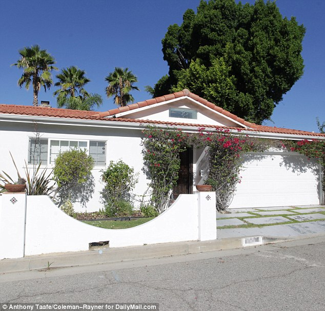 Residents in White's neighborhood said she had been renting a $1.1million home there for about three to four months. It's believed she was renting the property for $5,000 a month