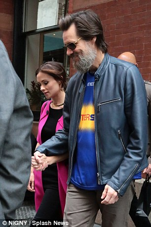 Carrey and the Irish make-up artist first met in 2012, but broke up in March 2013. They rekindled their romance this past May, when they were seen holding hands in New York City together
