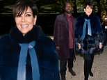 PARIS, FRANCE - OCTOBER 03:  Kris Jenner and Corey Gamble attend the Elie Saab show as part of the Paris Fashion Week Womenswear Spring/Summer 2016 on October 3, 2015 in Paris, France.  (Photo by Pascal Le Segretain/Getty Images)