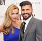 """Singer Katherine Jenkins and writer/director Andrew Levitas attend the Arc Entertainment & The Cinema Society screening of """"Lullaby"""" at Museum of Modern Art in New York City, America.   (Photo by Stephen Lovekin/Getty Images)"""