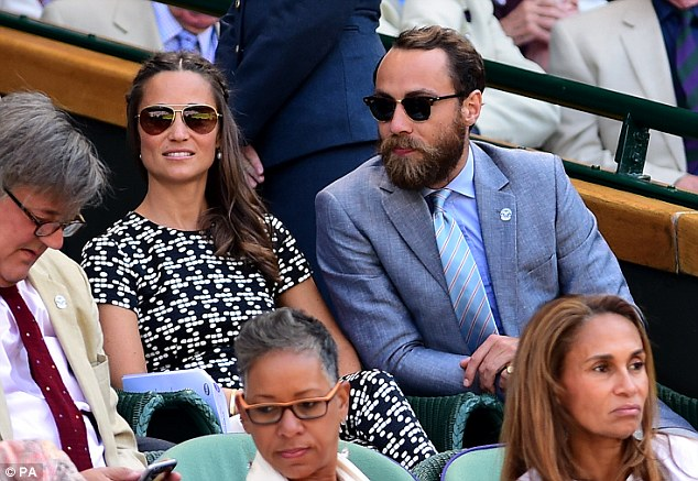 Surely it can only have been coincidence that on the day Mr Testino's glossy photos of last Sunday's christening were issued, James and Pippa were to be found in the Royal Box at Wimbledon, the hottest of hot tickets of the summer season