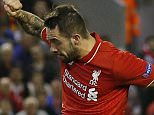Football - Liverpool v FC Sion - UEFA Europa League Group Stage - Group B - Anfield, Liverpool, England - 1/10/15  Liverpool's Danny Ings misses a chance to score  Reuters / Phil Noble  Livepic