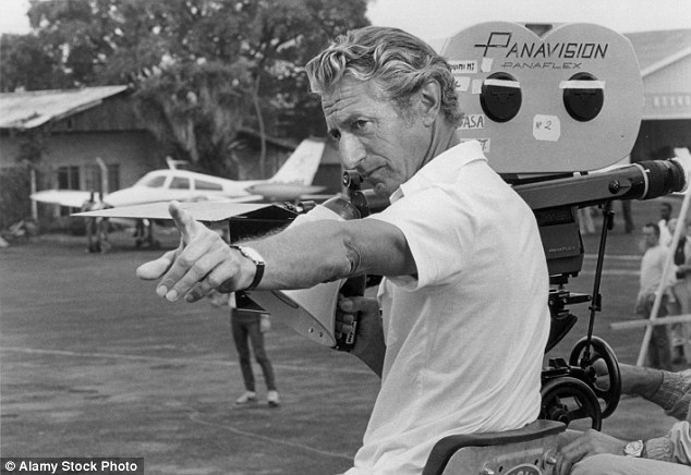 Sad passing: British director John Guillermin passed away aged 89 on Sunday at his home in the Topanga Canyon area of Los Angeles
