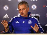 Football - Chelsea - Jose Mourinho Press Conference - Chelsea Training Ground - 2/10/15  Chelsea Manager Jose Mourinho during press conference  Action Images via Reuters / Alex Morton  Livepic