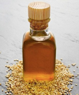 Sesame oil can be used as a natural teeth cleaner