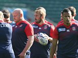 Mandatory Credit: Photo by Kieran Galvin/REX Shutterstock (5212291v)  England's Chris Robshaw     England Rugby Union Captain's Run, Twickenham, London, Britain - 02 Oct  2015  England Rugby Union Captain's Run, Twickenham, London, Britain - 02 Oct 2015