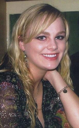 Miss Harrington was found dead in 2009