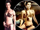BNPS.co.uk (01202 558833)\nPic: ProfilesInHistory/BNPS\nThe iconic bikini worn by Star Wars siren Princess Leia in Return of the Jedi has sold for a staggering £52,000 among a treasure trove of relics from the hit film franchise.\nActress Carrie Fisher famously donned the revealing gold outfit for the scenes in which her character Princess Leia was taken prisoner by slug-like crime lord Jabba the Hutt.\nIt was among more than 50 items of Star Wars items being sold at Californian auction house Profiles in History last night (Thurs).\nA miniature model of a 'blockade runner', the very first starship seen in the opening sequence of the original film, sold for a massive £250,000.