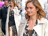 Ruth Wilson seen arriving at The Late Show with Stephen Colbert in a raining day in New York City\n\nPictured: Ruth Wilson\nRef: SPL1142522  021015  \nPicture by: Splash News\n\nSplash News and Pictures\nLos Angeles: 310-821-2666\nNew York: 212-619-2666\nLondon: 870-934-2666\nphotodesk@splashnews.com\n